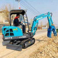 小型挖掘机 家用 挖土 二手