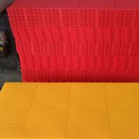 工厂直供贵州悬浮地板/弾扣古币拼装地板/pp悬浮地板厂家