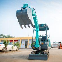 广东广州挖臭水沟的小型挖掘机 小挖机型号尺寸
