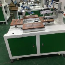 PVC胶片丝印机直尺丝网印刷机