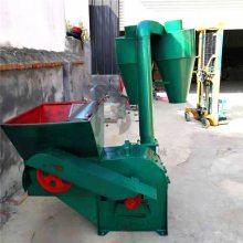 丹东大型沙克龙秸秆粉碎机 自动稻草树皮粉碎机厂家