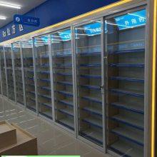 药店货架 连锁药房单面中西药柜展示架 诊所药品柜货架批发厂家