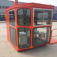 1.2*1.4司机室外壳价格 普通玻璃司机室 电动遥控操作室