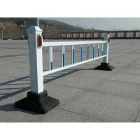 城市交通镀锌喷塑钢护栏市政道路隔离护栏