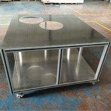 加工定制实验室防静电工作台 铝型材工作台防静电操作台批发