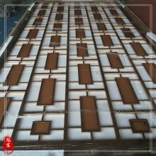 佛山不锈钢花格制品厂家 定做 KTV酒吧不锈钢屏风隔断工程装饰