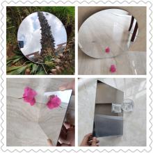 麦迪加工定制不易碎亚克力镜化妆镜玩具镜片,软镜子有机玻璃