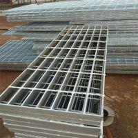 热镀锌楼梯格栅 金属钢梯格栅 平台踏步格栅厂家