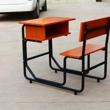 云南校用钢木课桌椅 小学生课桌椅批发