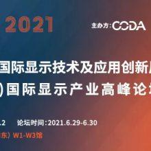 2021中国(上海)国际显示技术及应用创新展