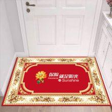 河南专注定制店铺广告地毯 天津津软地毯