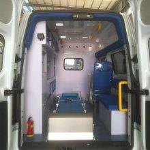 福特V362中軸中頂救護車 救護車廠家