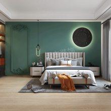 华侨城别墅装修,天澜美墅二期联排端户设计方案,轻奢风格装修效果图