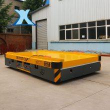 可定制搬运铜线液压式转向大吨位模具蓄电池无轨电动转运车_新乡百特智能