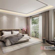 天古装饰照母山别墅装修在建工地,渝北珺悦府合院别墅设计效果图