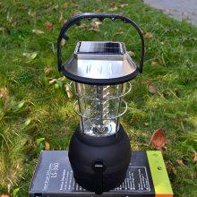 太阳能手摇发电提灯LED手摇发电马灯充电式户外野营灯太阳能灯冀北