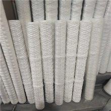 正安厂家供应 40英寸脱脂棉PP骨架线绕水滤芯/蜂房滤芯