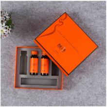 深圳***包装礼盒定制,天地盖套盒烫金硬板精装礼品盒设计印刷