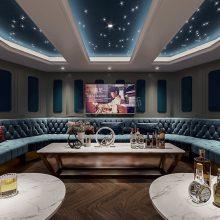 龙湖独栋别墅装修,江与城天钜1500平米别墅设计方案,天古装饰梦空间