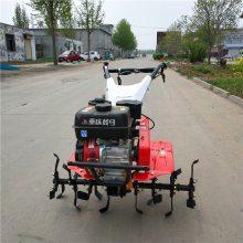 7.5马力汽油微耕机 操作灵活手推式苗圃除草旋耕机设备厂家