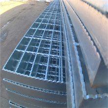 阴沟盖板 防止氧化地沟格栅 钢梯踏步板