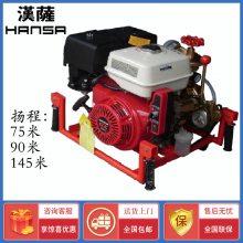 进口伊藤手抬机动消防泵YT30GB
