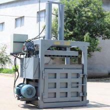 立式廢金屬液壓打包機 小型油桶壓扁機 棉花液壓打包機