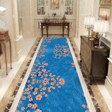 水晶绒印花地毯定制 网红3D水晶绒地毯防滑家用现代来图定制