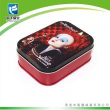 扑克牌包装铁盒 智力游戏桌面扑克牌铁盒装 卡片小纸牌定制批发铁盒