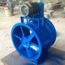 皮帶傳動軸流風機圓形C式外置電機管道軸流風機
