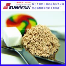 蓝晓科技有效去除棒曲霉素并能去除部分的农药残留等有害物质同时提高果汁色值LSA-900B树脂颗粒