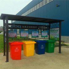 江门垃圾分类智能回收箱 大型户外垃圾箱图片样式美观,使用命长