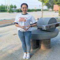 芝麻清洗机200斤燃气炒锅 传统小磨香油 电动香油石磨豆浆机