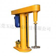 东莞玉达机械直供7.5千瓦水性涂料液压分散机/腻子粉液压升降搅拌机/油漆搅拌机