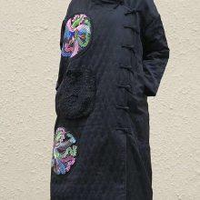 民族风棉麻真丝女装吉丘古儿秋冬 南京品牌折扣女装货源