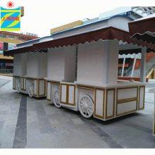 景观售货车 小百货售卖亭 饰品移动售货亭