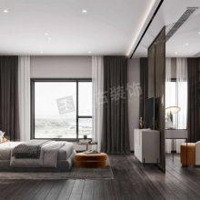 国博台北区联排别墅装修设计案例,悦来现代风格别墅室内装修效果图