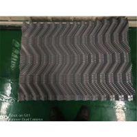 玻璃钢冷却塔临水片 冷却塔S波填料 PVC荏原填料 品牌华庆