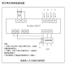 供应爱博精电AcuRev 1300导轨安装式三相电能表,OLED显示
