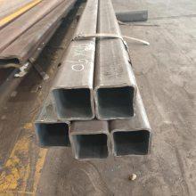 Q235无缝方管 圆改方 非标无缝方矩管定做 6米定尺 直线度高 山东聊城