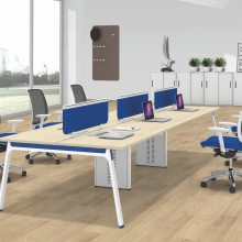 北京华泰圣瑞厂家供应简约板式办公桌