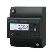 供应爱博精电AcuRev 1200导轨安装式单相电能表,标准35mm导轨安装
