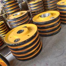 厂家批发起重机滑轮组 升降机滑轮片 铸钢滑轮片 轧制滑轮片