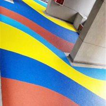 石庄塑胶彩色颗粒EPDM室外地胶橡胶跑道 幼儿园篮球场地坪地面材料厂