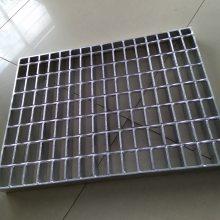 热镀锌钢格板洗车房盖板楼梯走道参观平台踏步板井盖镀锌钢格栅板G405/40/100