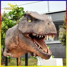 厂家出售仿真恐龙,大型仿真恐龙模型,仿真硅胶恐龙,雕塑恐龙头