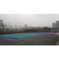 宜宾鸿瑞铠4mm厚篮球场施工