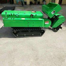 新款遥控式旋耕机价格-耕地松土机型号-桃园管理旋耕除草机