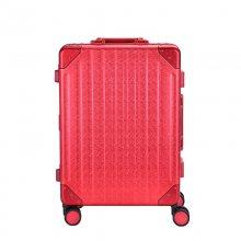 20寸铝框拉杆箱 全铝镁合金行李箱 定制万向轮铝合金登机旅行箱