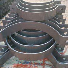 厂家直销化工管道管夹 扁钢管夹 抱箍